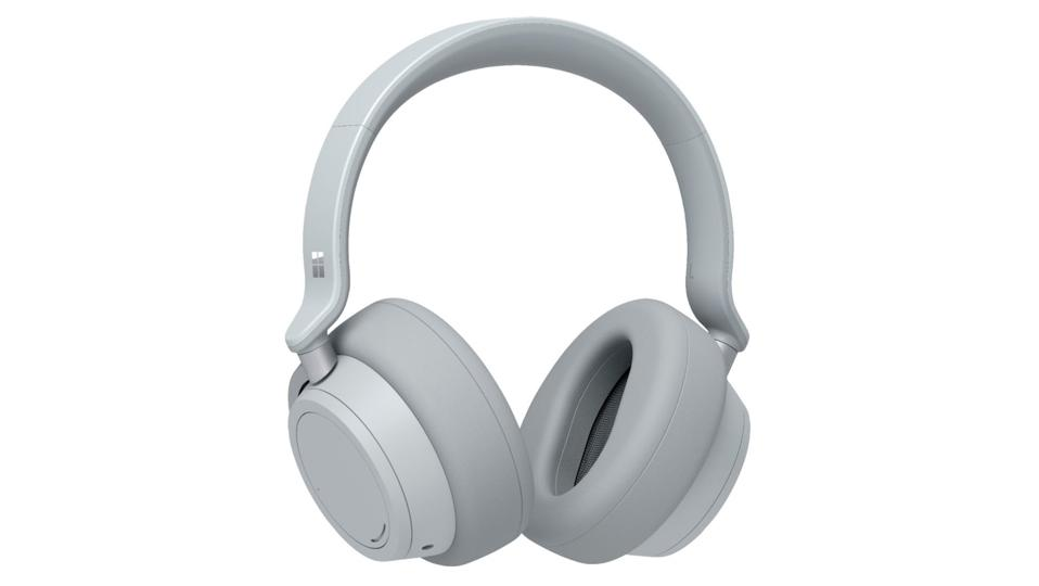 Microsoft - Surface Headphones - Wireless Noise Cancelling Over-the-Ear with Cortana - Light Gray