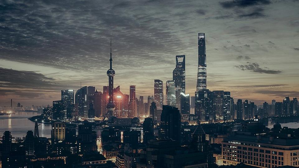 China, Shanghai, skyline