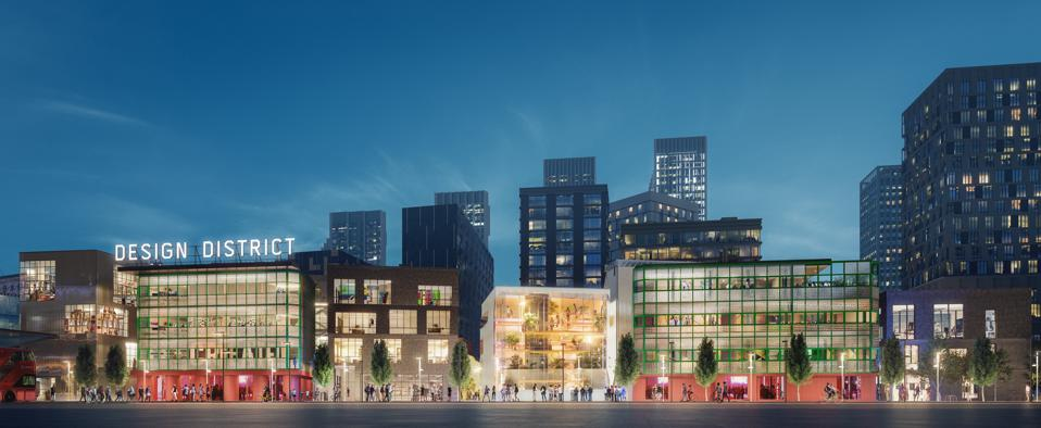 Unveiled Images Give Us A Glimpse Into London's New Design District