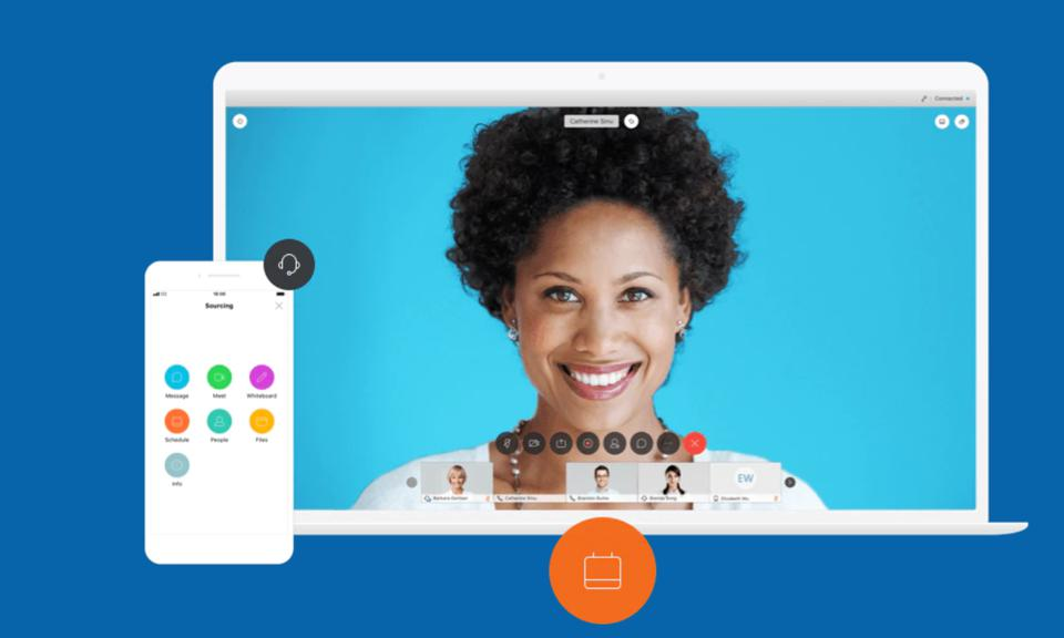 Webex Teams has multiple tools to collaborate with teams including video, chat, and third-party apps.
