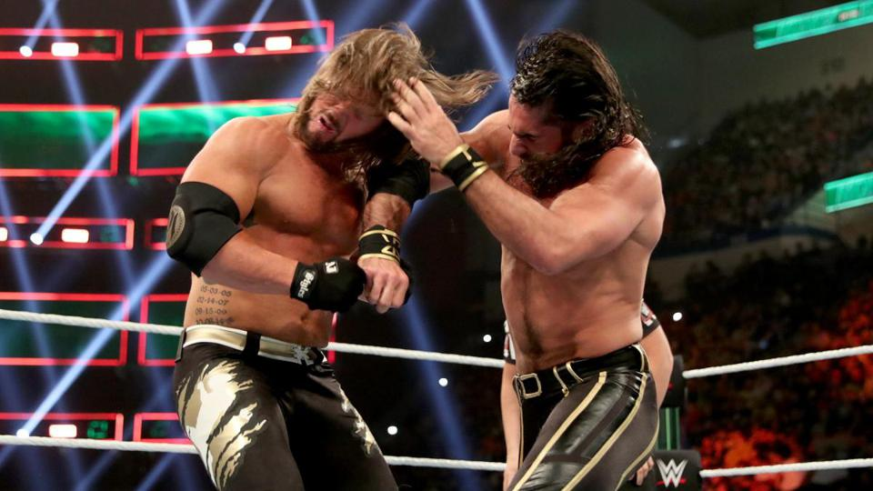 WWE Money in the Bank 2019: Seth Rollins punches AJ Styles