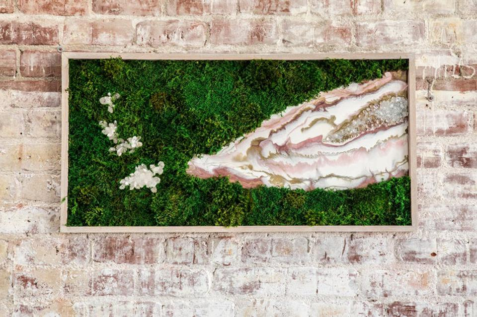 Kelley Anderson moss art