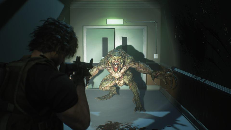 Resident Evil 3 Hunter Carlos