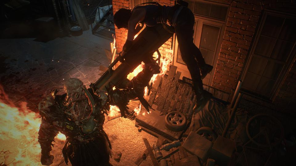 Review Resident Evil 3 2020 Is Cinematic Action Horror At Its