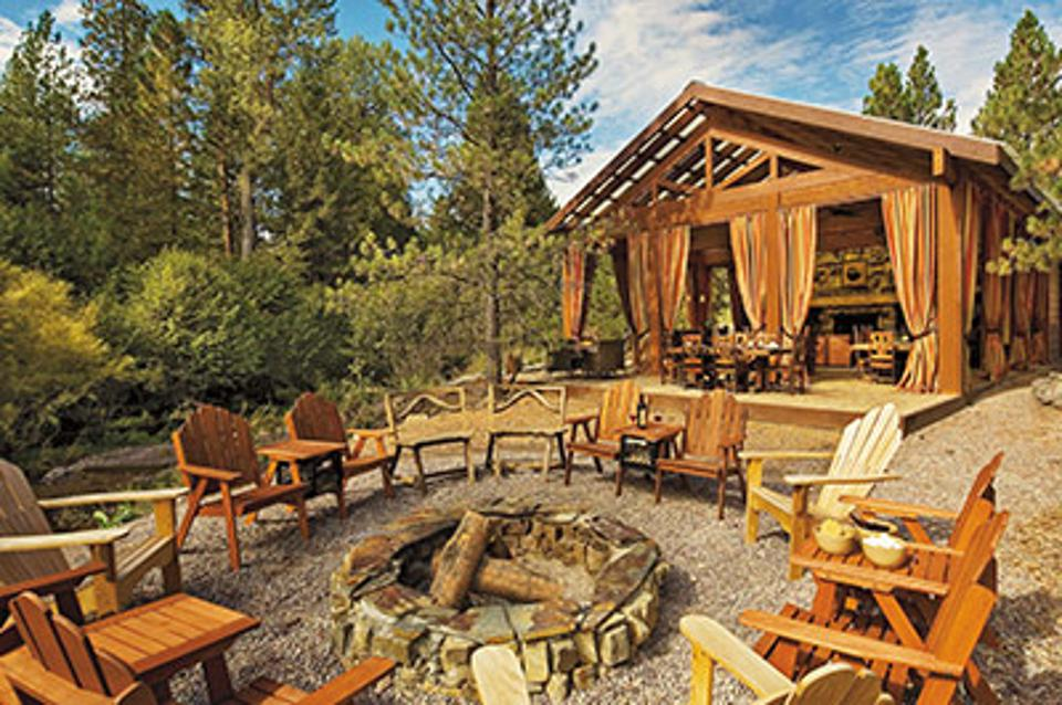 Paws Up lodge