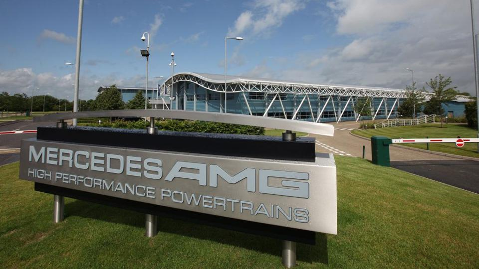 Mercedes-AMG High-Performance Powertrain facility