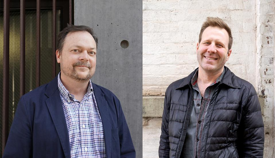 Pensa's design leads Marco Perry and Mark Prommel