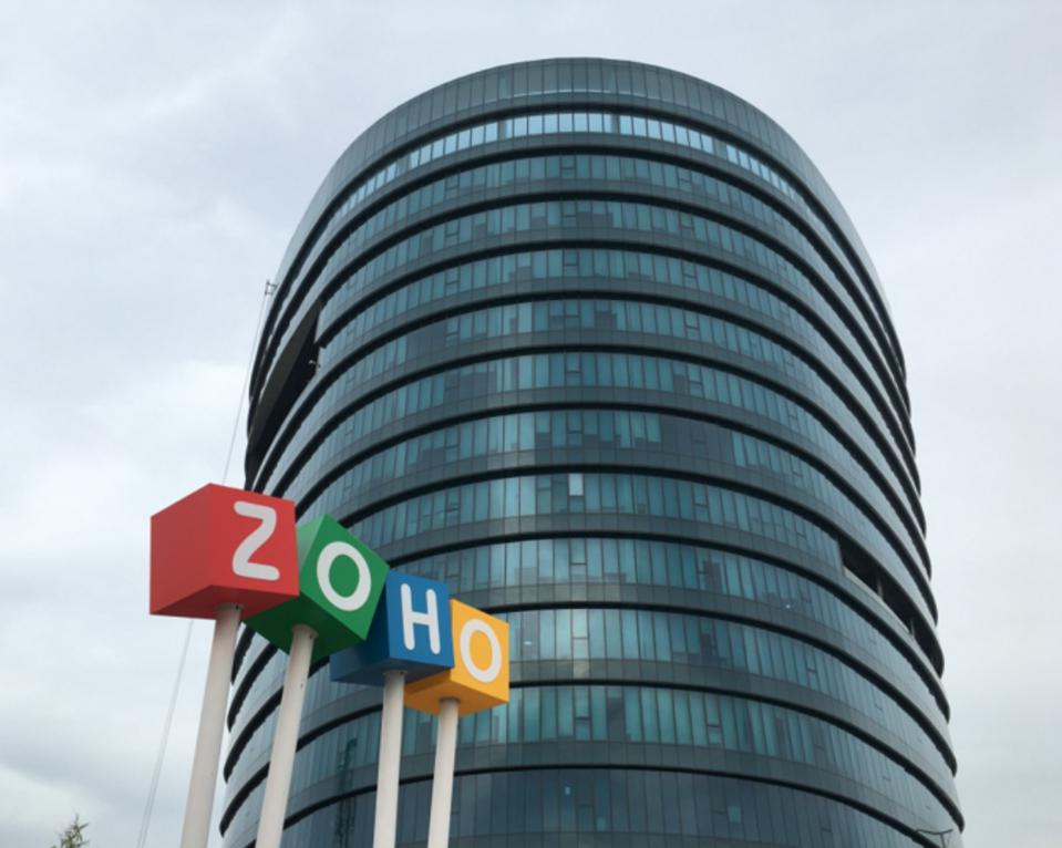 Zoho is a business software as a service company with over 20 years of software experience