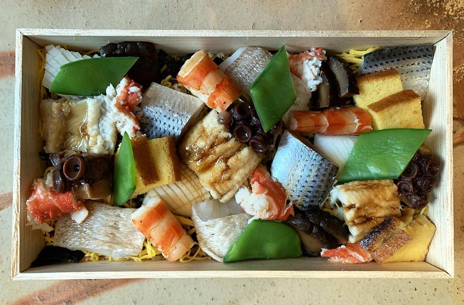 Sushi Ginza Onodera Chirashi Box Omakase New York COVID-19 Japanese food takeout delivery