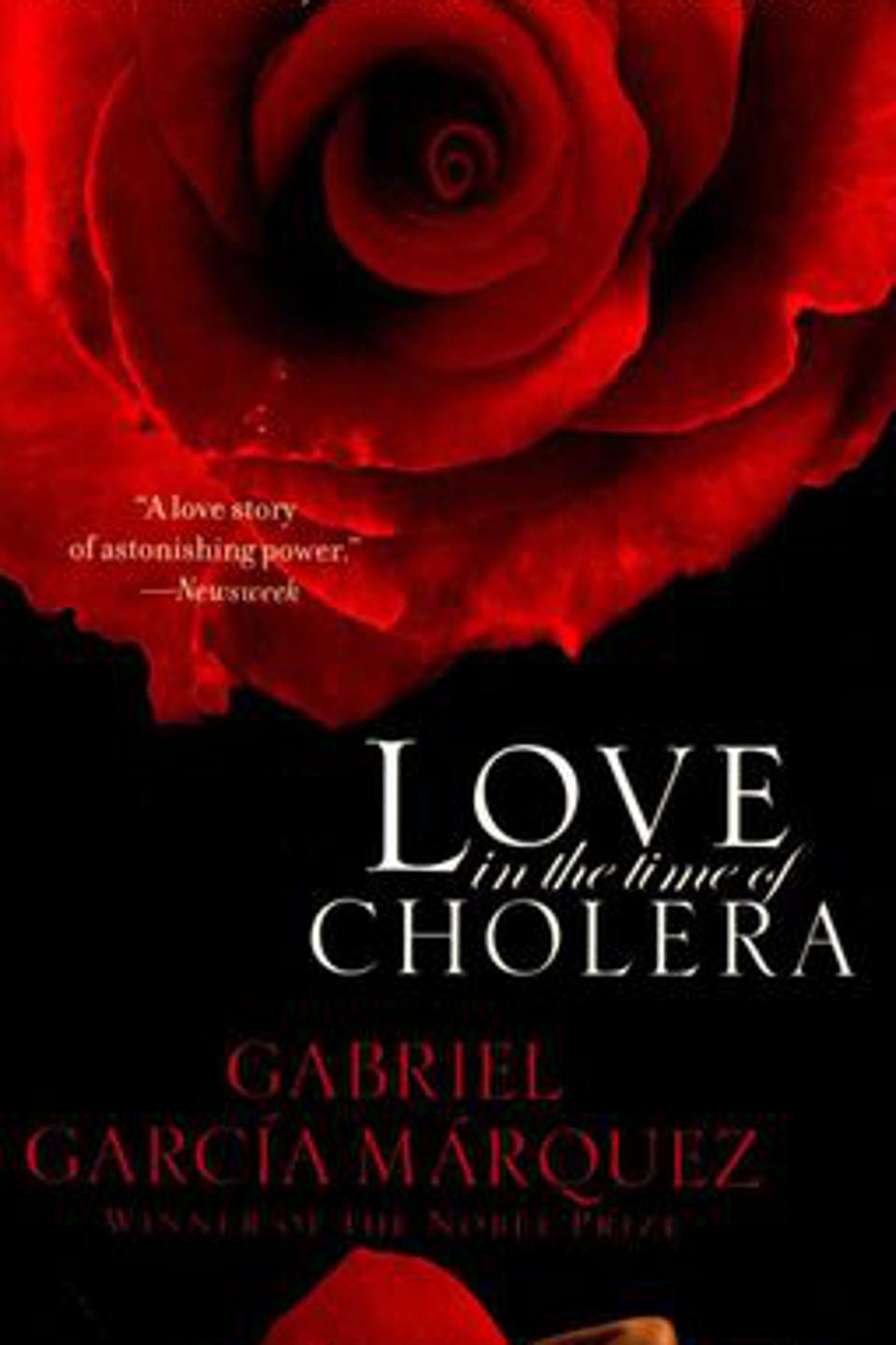″Love in the Time of Cholera″ by Gabriel Garcia Marquez