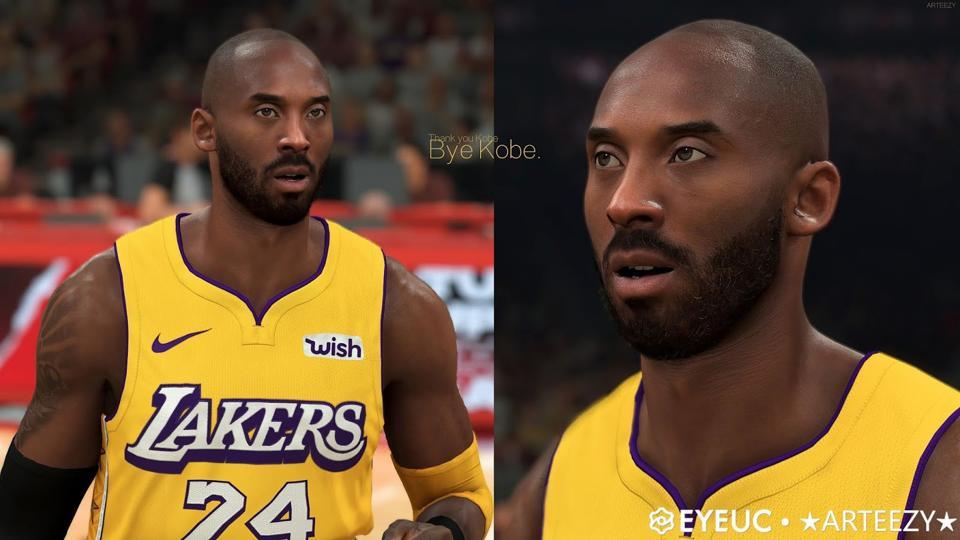 Kobe Bryant - NBA 2K20 PC mod