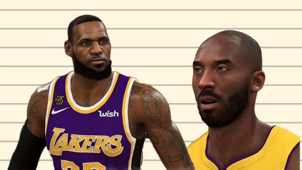 LeBron YKWL and Kobe Arteezy - NBA 2K20 PC Mods