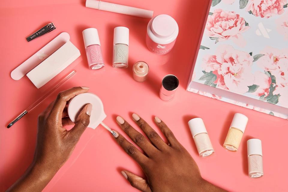 At-home manicure kits are gaining in popularity as a great way to maintain beauty routines.