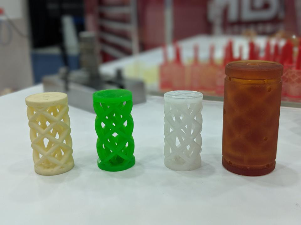 3D printed mold and intricate molded designs