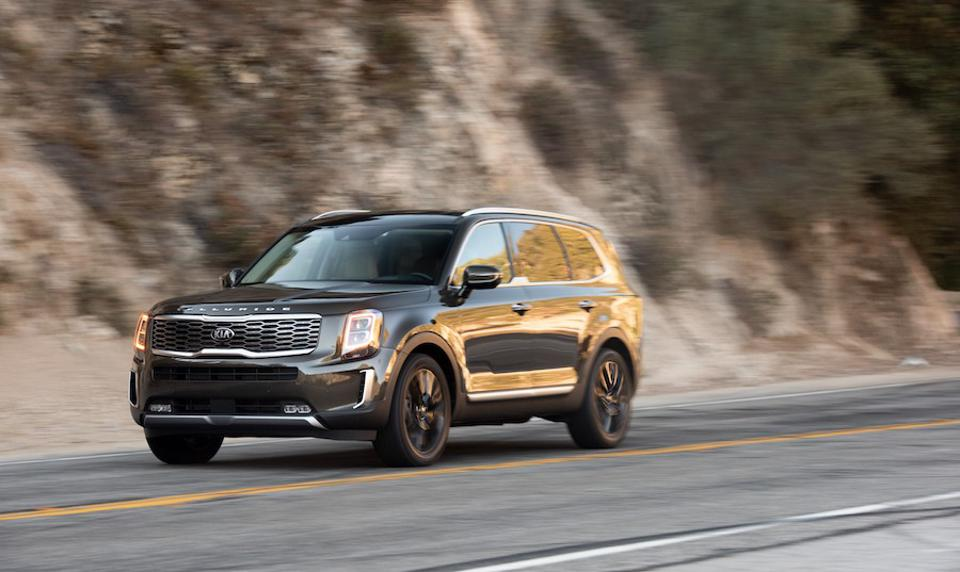 The Telluride is the first Kia to ever finish in the top 3 finalists for the main award.