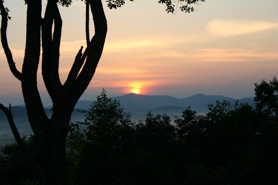 Blue Ridge.  North Georgia Mountains.