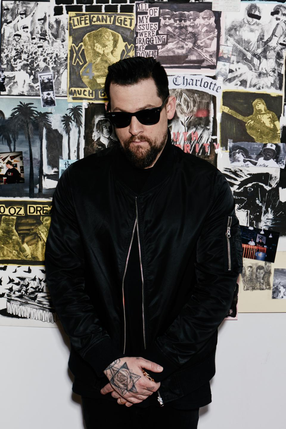 Good Charlotte's Joel Madden has also co-founded Mddn.co and Veeps.