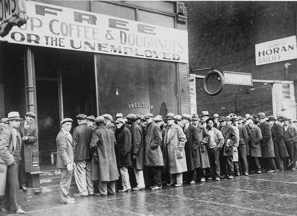 Unemployed during the Great Depression