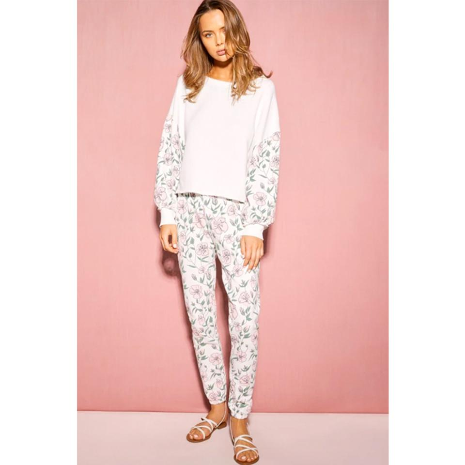Wildfox Couture Sweet Bouquet Olivia Sweatshirt and Knox Pants