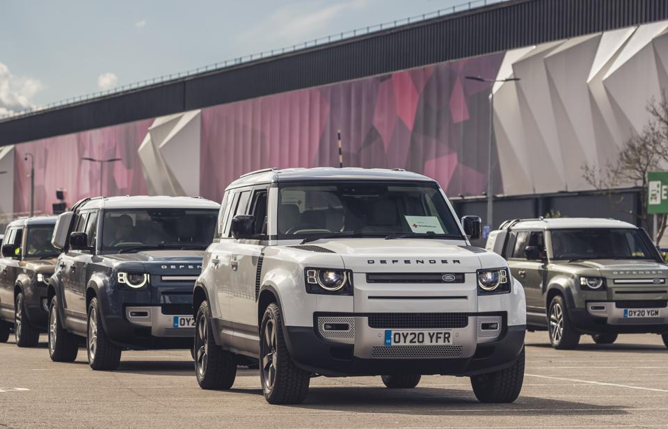 JLR Red Cross 2020 Land Rover Defender