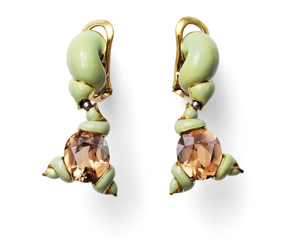 Edentulina earrings by Ottoe Jakob