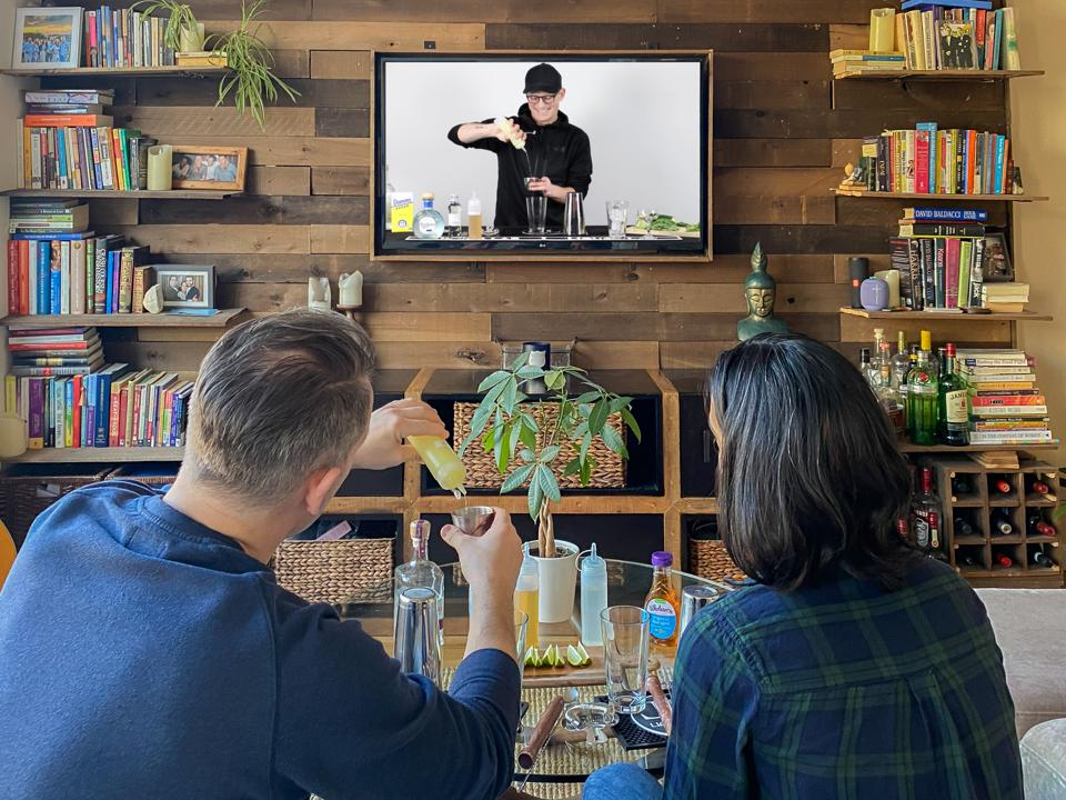 A digital cocktail class from Liquor Lab.