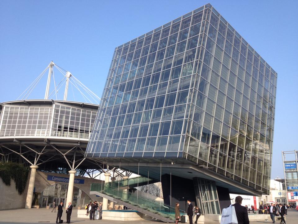 Building-Messe-Hannover Germany-photo by Joe McKendrick