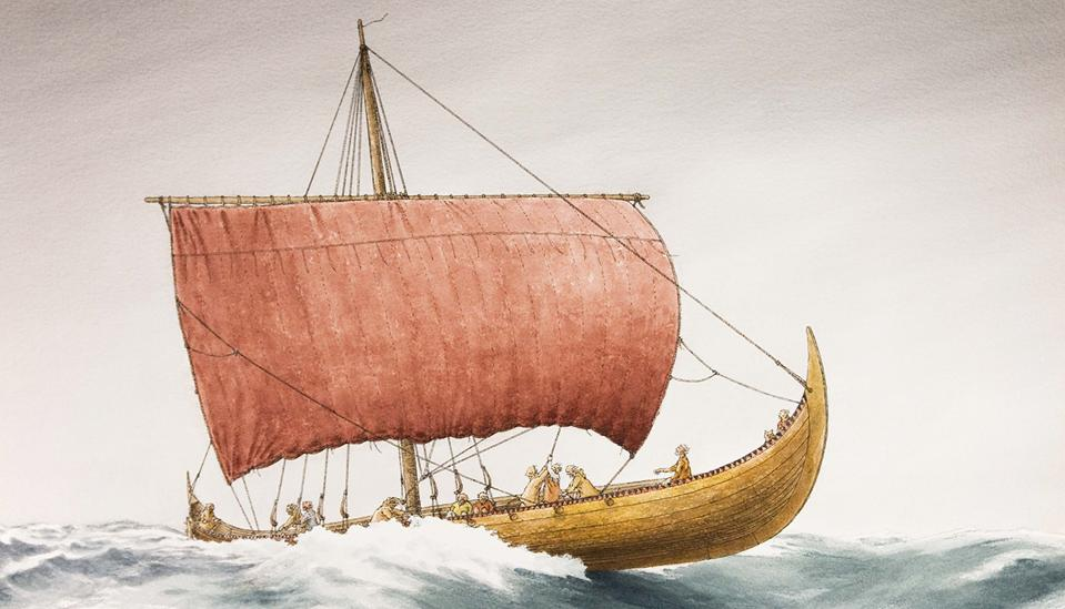 Illustration of the Tune ship based on a recent digital reconstruction.