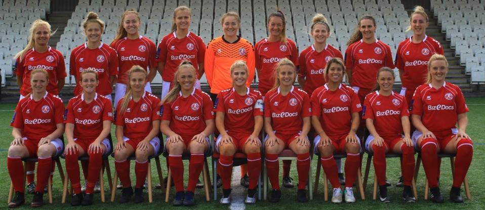 Team photo of Barnsley Women's FC