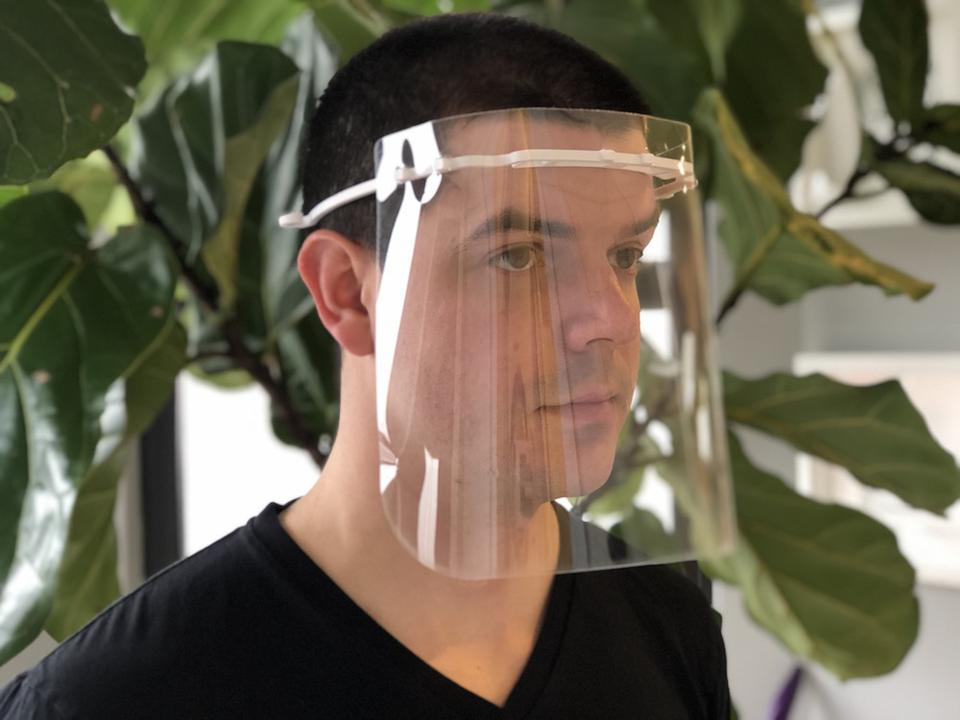 BIG's 3D-printed COVID-19 medical face shields