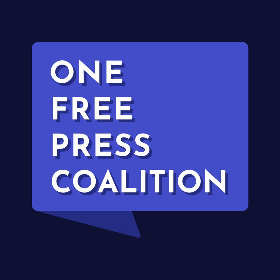One Free Press Coalition logo