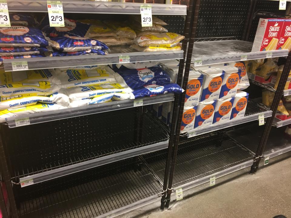 Baking shortages