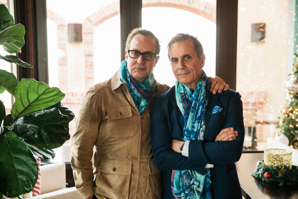 Georges Daou (co-proprietor, DAOU) and Daniel Daou (winemaker, co-proprietor, DAOU)