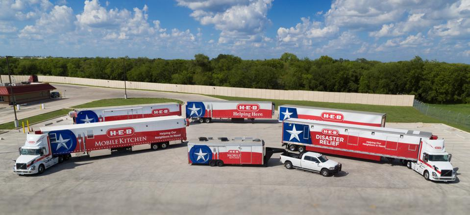 H-E-B Grocery Co. Disaster Response Vehicles