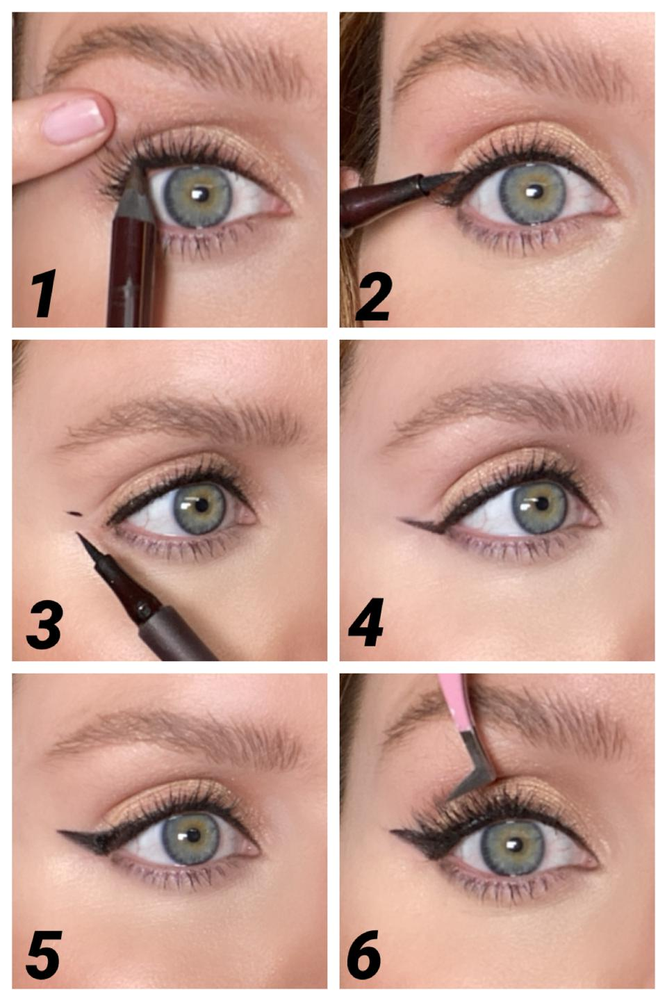 How To Perfect The Feline Flick: Step-by-step charlotte tilbury
