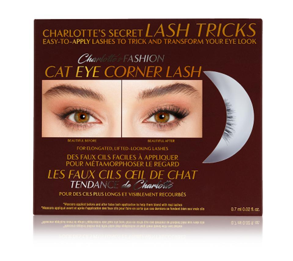 Charlotte's Secret Lash Tricks - Fashion Cat-Eye Corner Lash