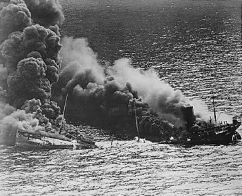Between Jan. 11 and Feb. 28, 1942, 74 ships were attacked, and all but one were sunk or damaged–with no losses to the U-boats.
