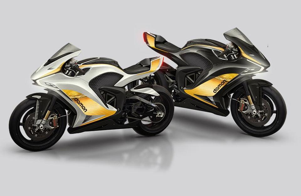 Damon Hypersport Electric Motorcycles