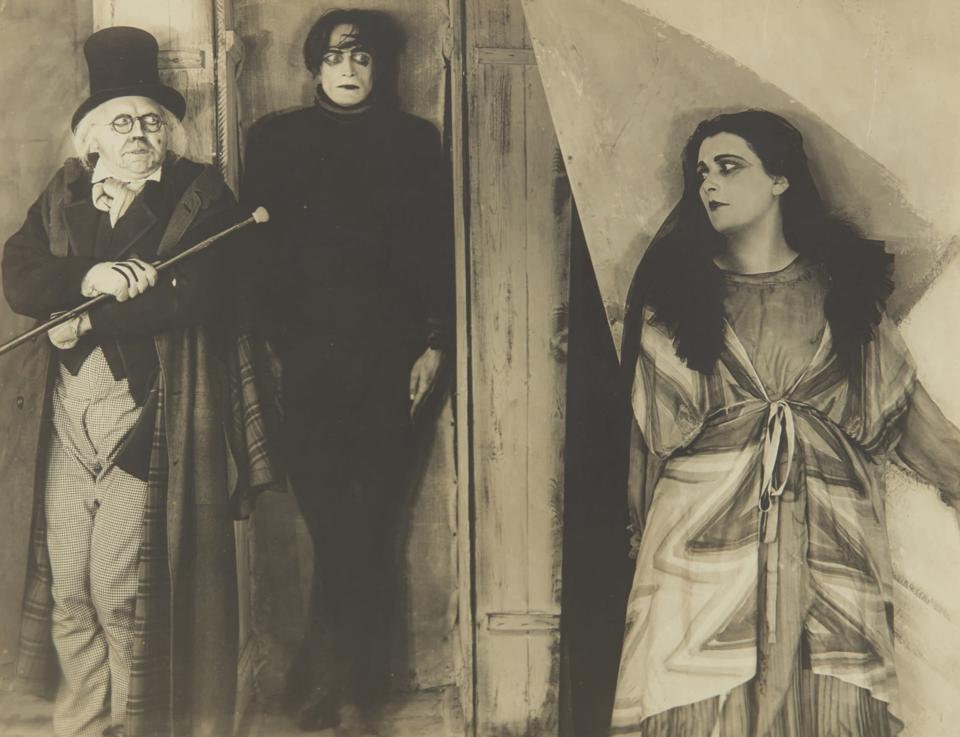 The Cabinet Of Dr. Caligari, Sotheby's, auction, cinema, investment, collections, horror