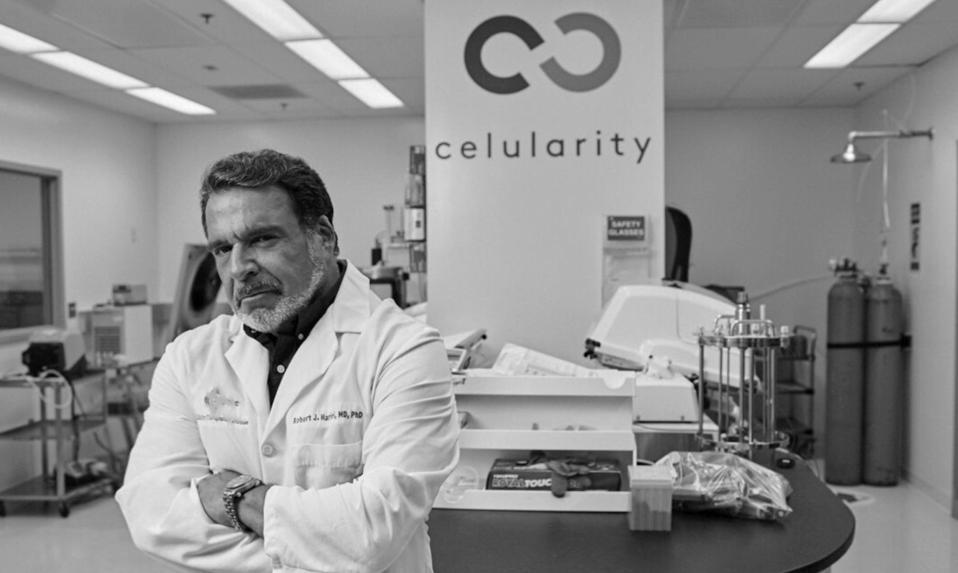 Celularity founder Robert Hariri