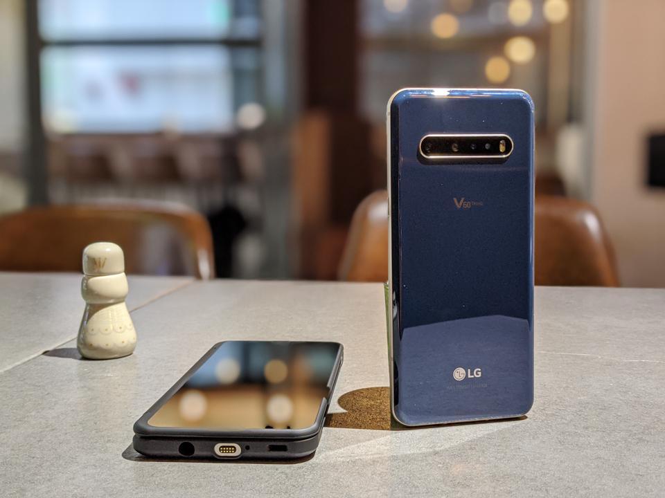 LG V60 Dual Screen.