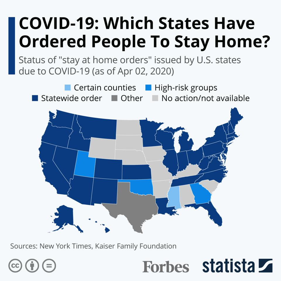 COVID-19_ Which States Have Ordered People To Stay Home?