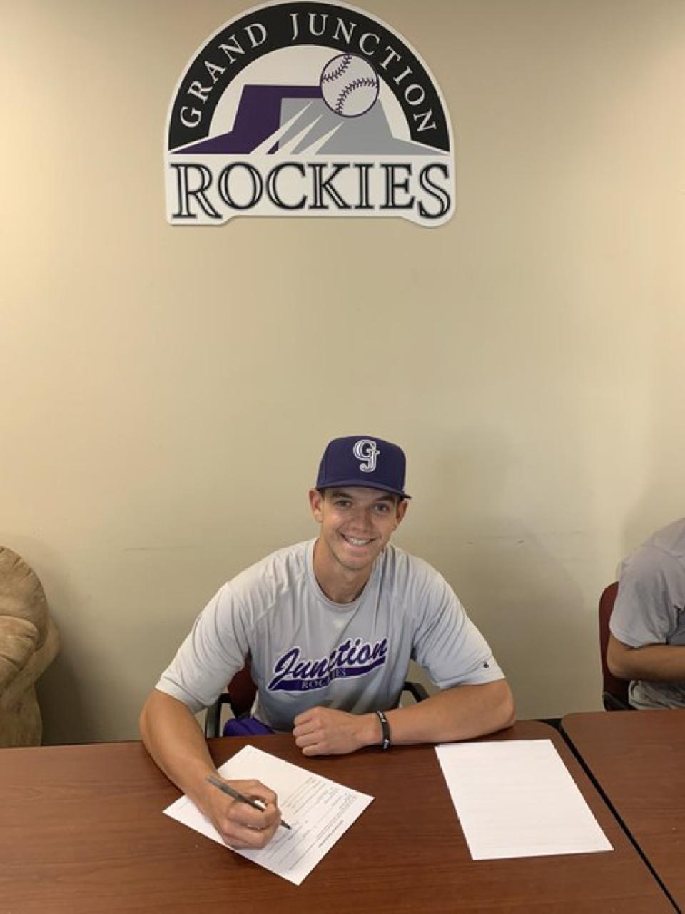 Colorado Rockies minor league pitcher Alex Achtermann.