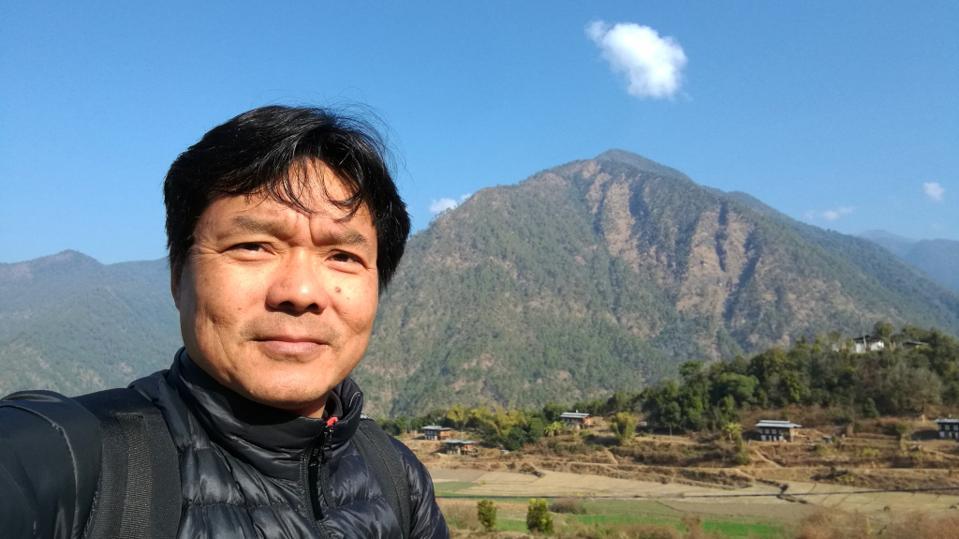 Dorji Wangchuk in Rukha village