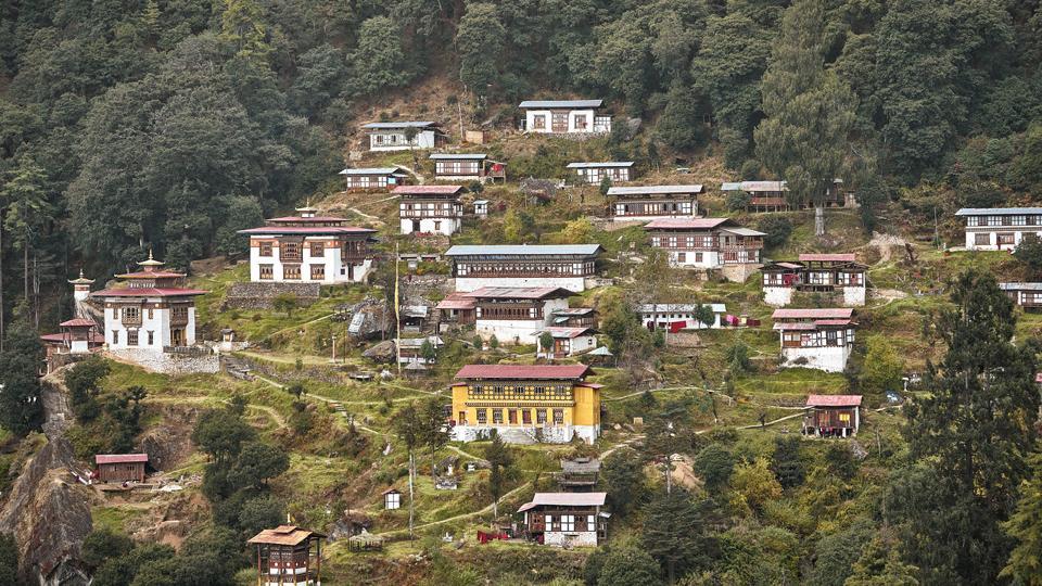 Dodhedra Monastery, Bhutan