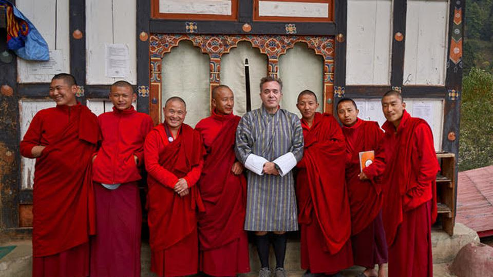 Hardy in Bhutan