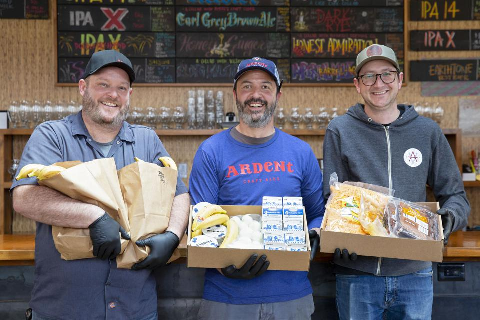 Ardent Brewing Sysco Food Bank