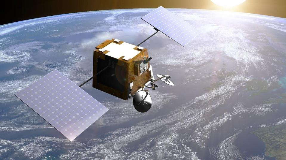 One of 600+ OneWeb spacecraft designed to provide internet connectivity worldwide