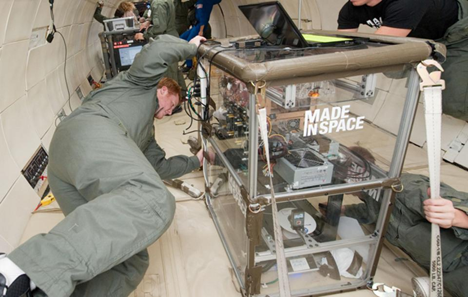 This 3D printer was sent to the International Space Station to let astronauts build tools