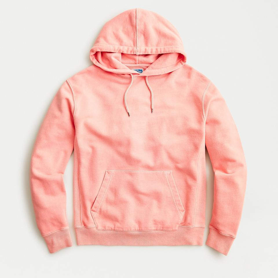 J. Crew Garment-Dyed French Terry Hoodie